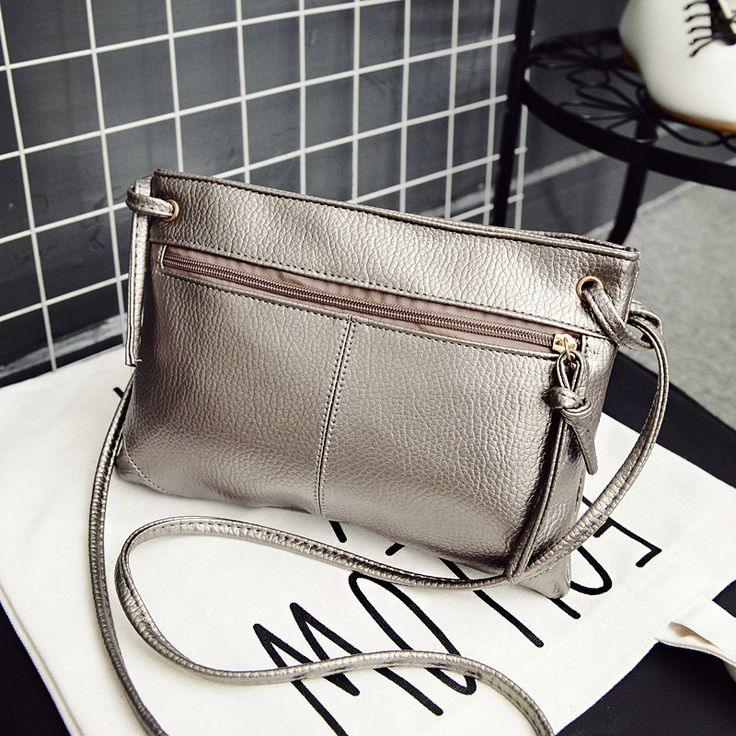 $5.77 (Buy here: https://alitems.com/g/1e8d114494ebda23ff8b16525dc3e8/?i=5&ulp=https%3A%2F%2Fwww.aliexpress.com%2Fitem%2F7879-1245%2F32657810766.html ) summer women messenger bags solid fashion small falp bags zipper bag female over the shoulder leather crossbody bags for women for just $5.77