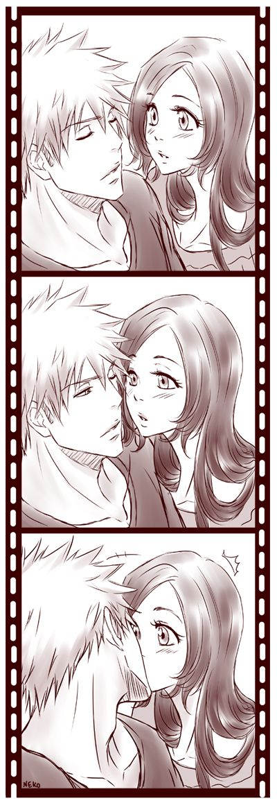 I don't ship those two as much as Ichigo & Rukia but it's still cute.