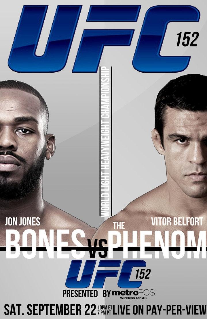 UFC 152: Fenômeno de Hoje vs fenômeno de ontem.
