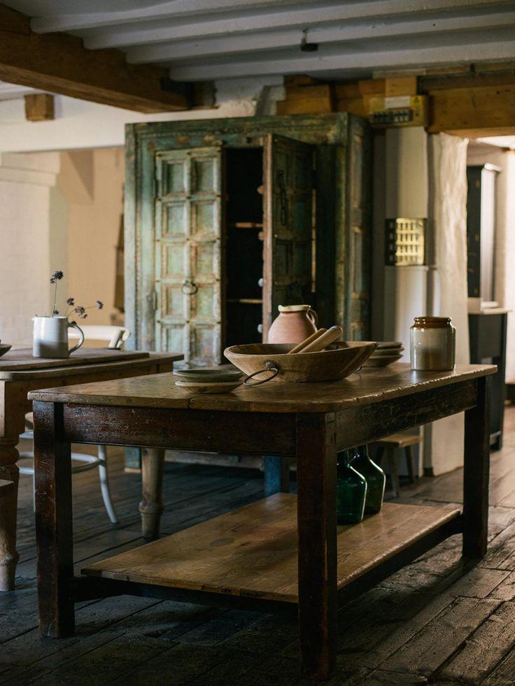 Fruitwood Prep Table | deVOL Kitchens in 2020 | Luxury ...