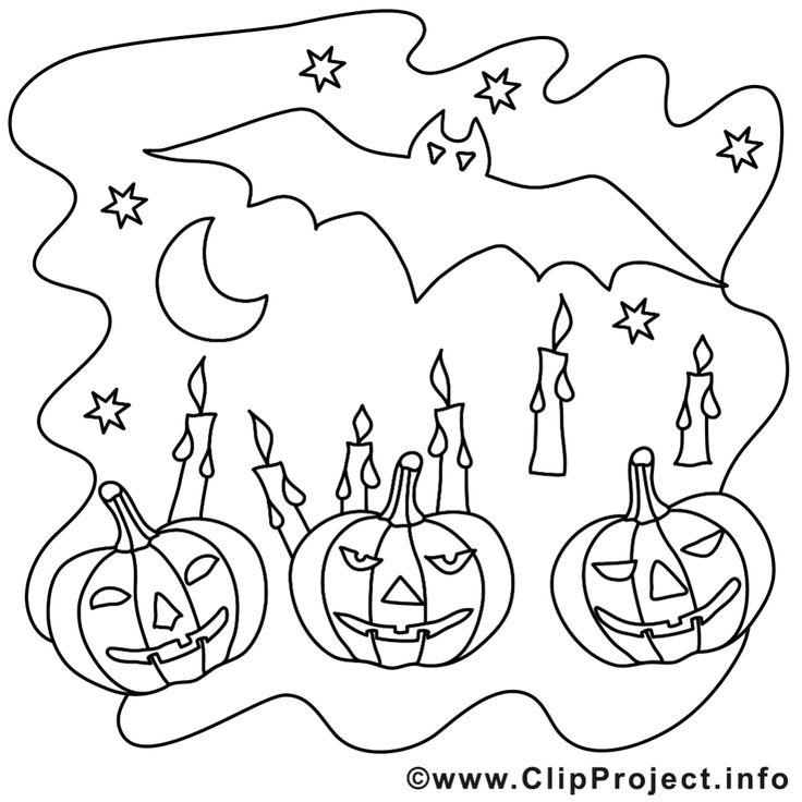 ausmalbilder zum ausdrucken f r halloween: bild zum