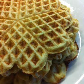 glutenvrijemama: Glutenvrije wafels