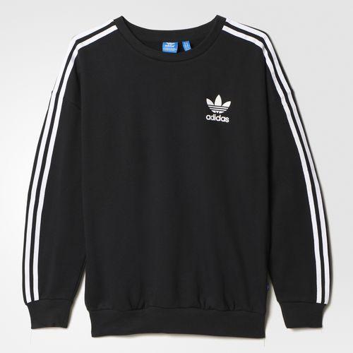adidas - 3-Stripes Sweatshirt Black AJ8403