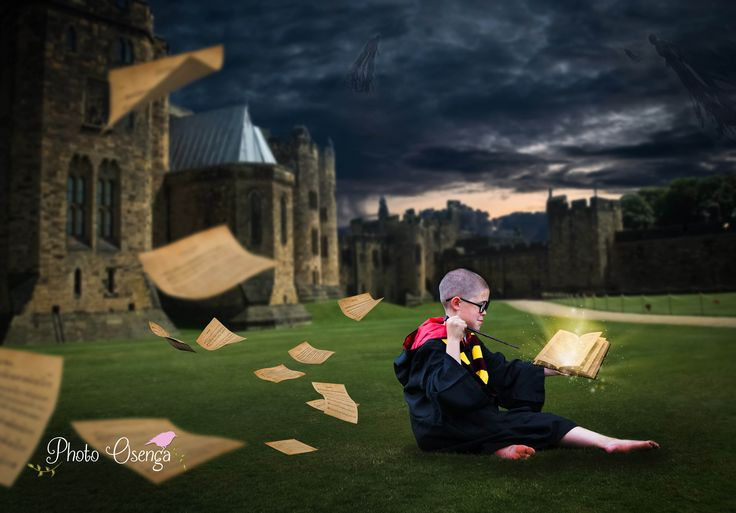 Harry Potter theme - Fairytale shoot by Photo Osenga