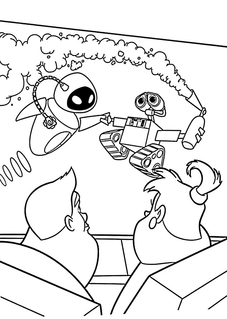 wall e eve coloring pages - photo#16