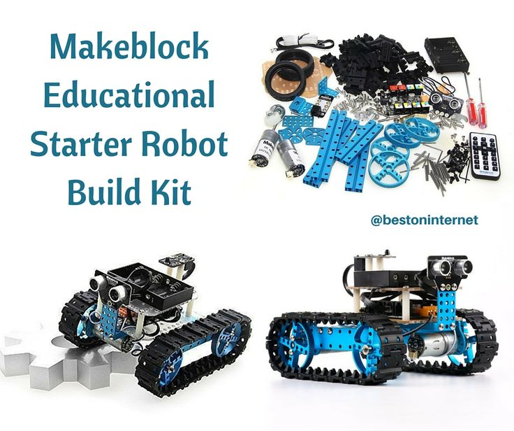 Makeblock is the excellent choice If you are the beginner in #robotics. This kit comes with IR receiver (bluetooth module). Try this Kit for your kids!   http://www.bestoninternet.com/compute/electronics/arduino-robot-kit-for-students/