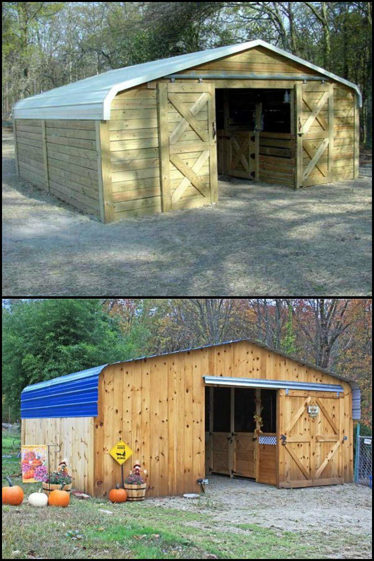 Turn an Inexpensive Carport Into an Awesome Barn  http://theownerbuildernetwork.co/ew22  Carports are great for keeping your car protected from the worst of the weather.   You can purchase an off-the-shelf carport. After assembling it, you can then clad it with timber and add a barn door, and you have yourself an awesome and inexpensive barn.  What would you use a converted carport for?