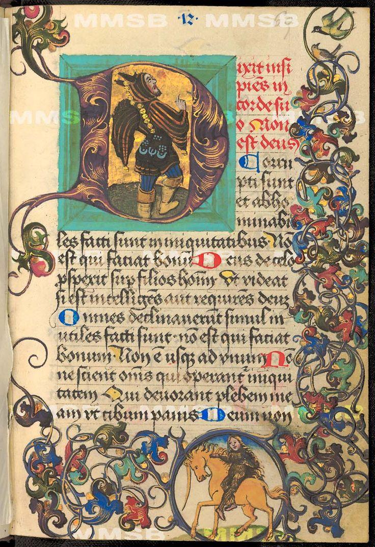Breviarium, psalterium, orationes Místo vzniku: Čechy Datace: hlavní část 1494, doplňky 17. (?) století; Ne před: 1494; Ne po: 1700