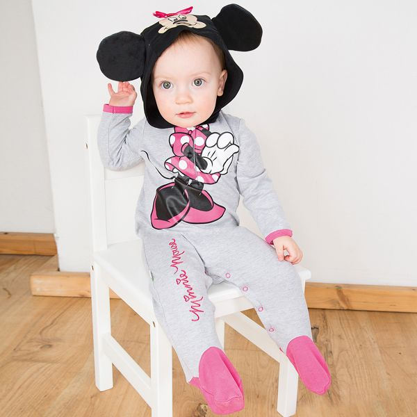 Disney Baby Minnie Mouse Jersey Romper