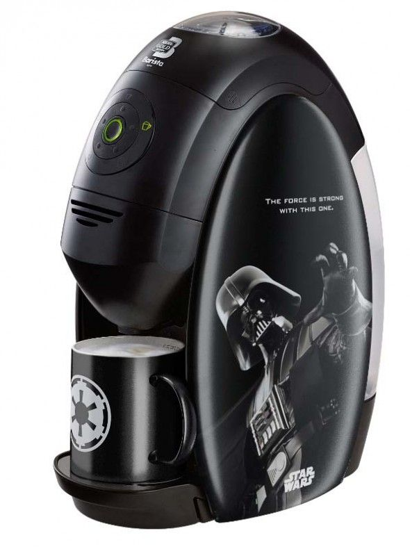Limited Edition Star Wars Coffee Machines ~ Vader has one in his Meditation Chamber