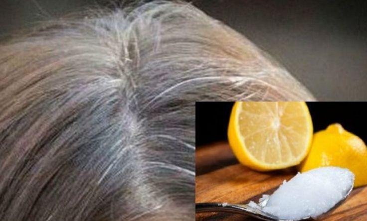 Masseer deze 2 dingen in je grijze haren en ze krijgen hun oude kleur weer terug! | Leesd