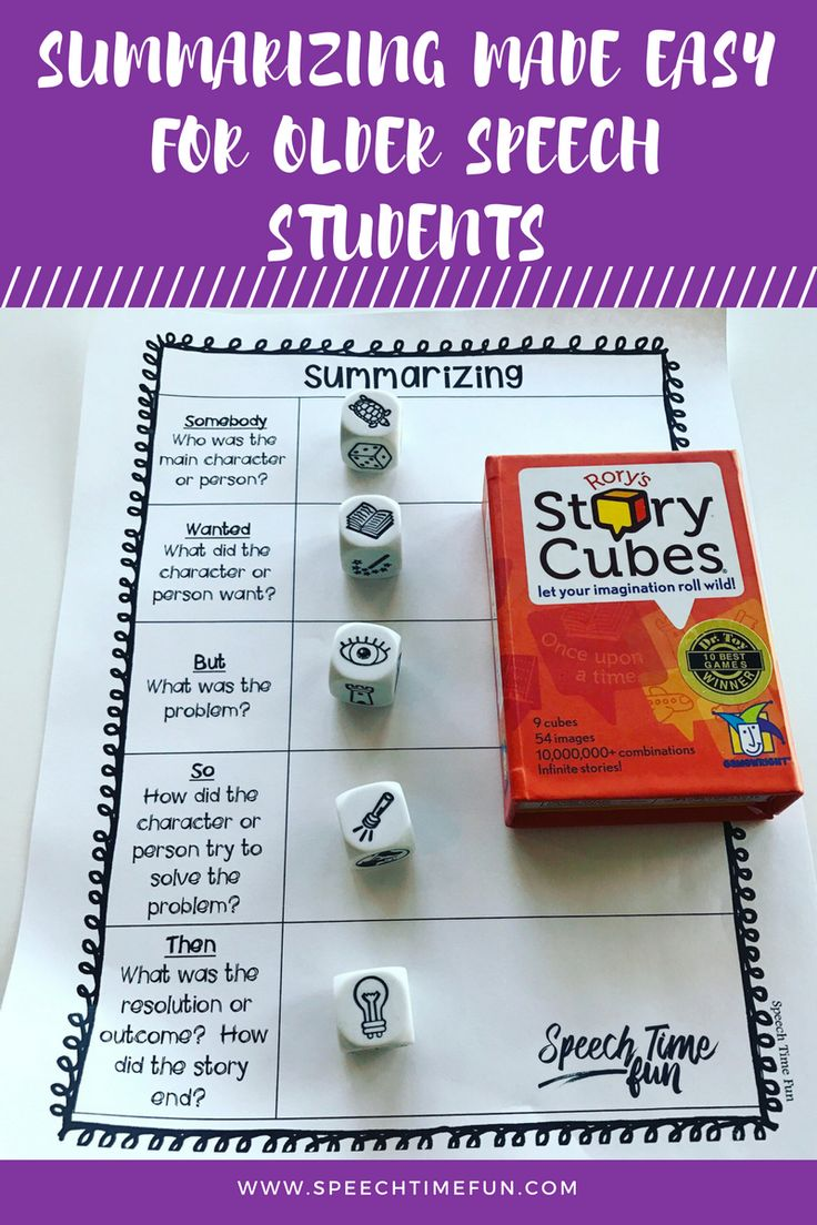 Summarizing is tricky skill for kids of all ages, but I'm sharing a tip to make summarizing easy for older students. Read this post to get the full scoop!