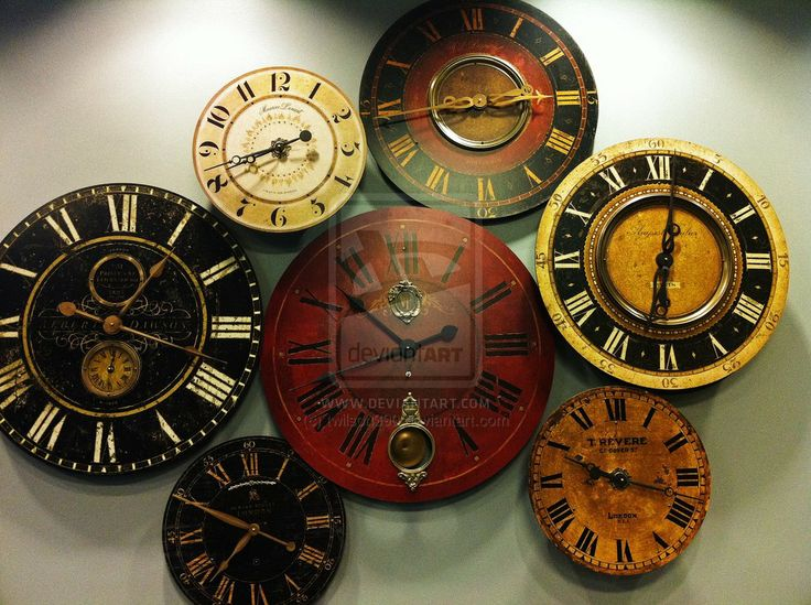 Best 25+ Wall Of Clocks Ideas On Pinterest