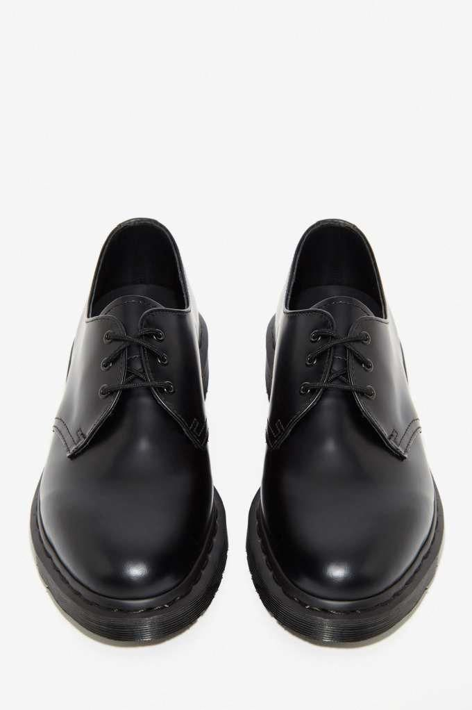 Dr Martens 1461 3 Tie Leather Shoe Black Shoes Oxfords Docmartensstyle Black Leather Shoes Louboutin Wedding Shoes Black Shoes