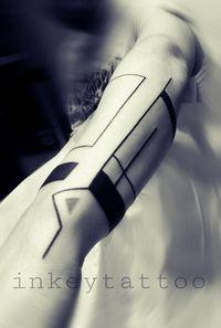 Τατουάζ Γεωμετρικό armband by Antonis Avgeris | Tattoo
