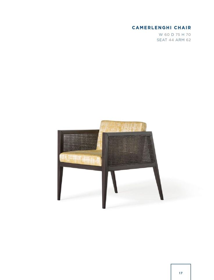 Rubelli Casa - Camerlenghi chair
