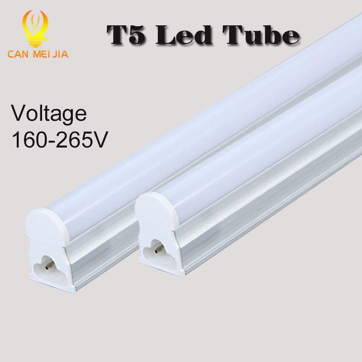 Canmeijia PVC Plastic LED Tube T5 Lights Bulb 220V 30cm 5W 60cm 1ft 2ft 9W LEDs Fluorescent Lamp led Wall Lamps Bulbs Light #Affiliate
