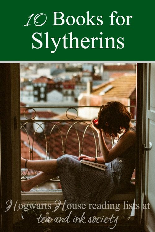 Books for Slytherins aren't as hard to come by as you might think! Here's a wide range of books that will appeal to Slytherins, for anyone who enjoys reading based on their Hogwarts House! #Slytherin #HogwartsHouses via @tandinksociety