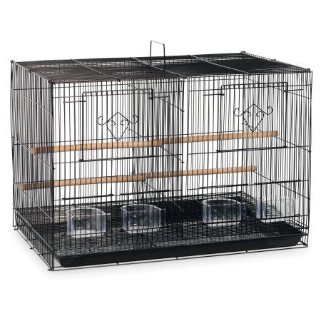 Free Shipping. Buy Prevue Pet Products Divided Flight Cage - Black at Walmart.com