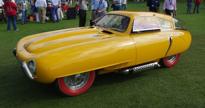 1952 Pegaso Z-102 Cupola takes Best in Show Concours de Sport at Amelia Island