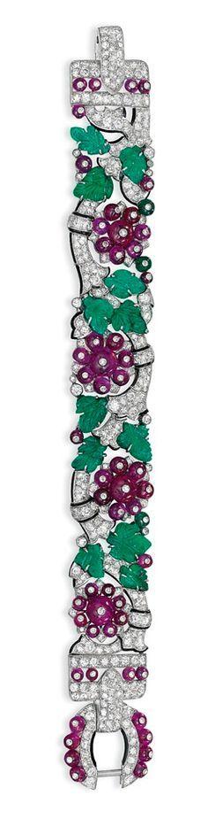 cartier tuttifrutti bracelet