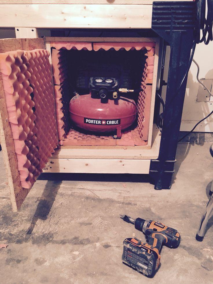 Soundproof air compressor