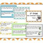 """This poster set includes the 3rd grade Common Core Science standards (aka """"Next Generation Science"""" Standards) in SIX color themes"""