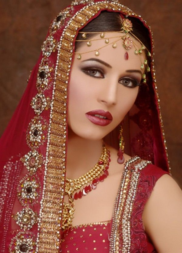 Indian Bridal- Delicately Red!  Posted by Soma Sengupta