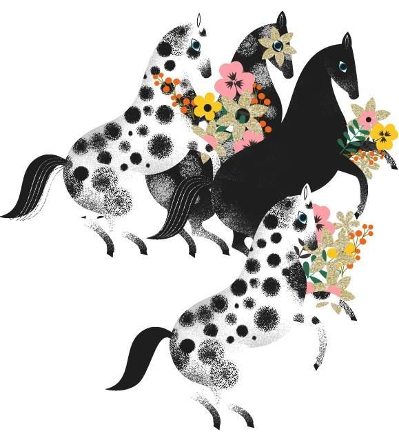 Daniel Roode - horse illustration
