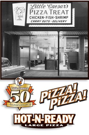 Mike and Marian Ilitch opened their first Little Caesar's Pizza shop in Garden City, MI in 1959.