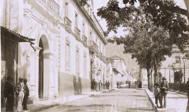 CASA PRESIDENCIAL, CASA AMARILLA, CARACAS, CIRCA 1890