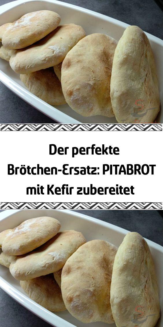 Der perfekte Brötchen-Ersatz: PITABROT mit Kefir zubereitet