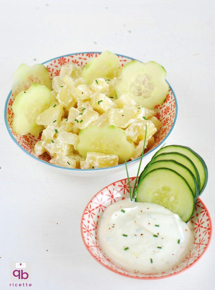 Insalata di patate e cetrioli light