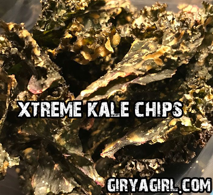 Check out my awesome kale chips recipe! :)