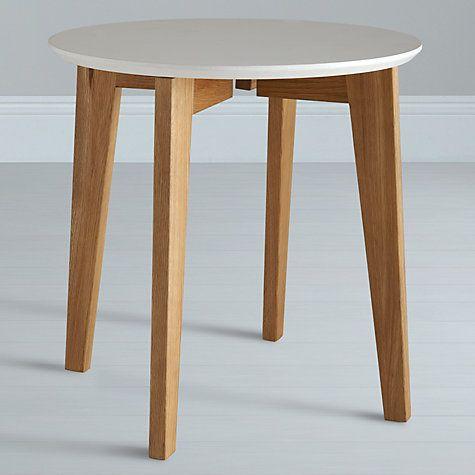 buy house by john lewis abin side table white oak online. Black Bedroom Furniture Sets. Home Design Ideas