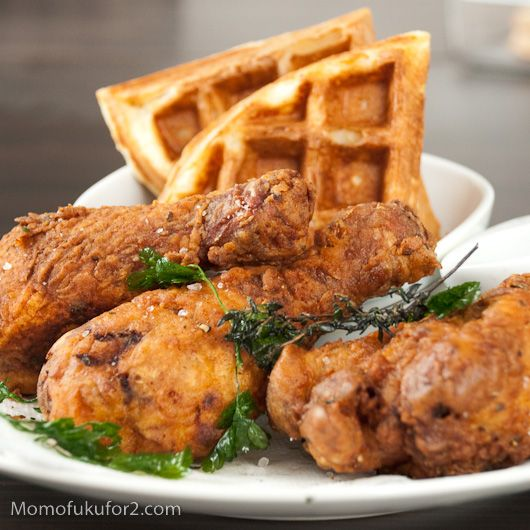 ... fried chicken loved fried chicken and waffles at ad hoc in yountville