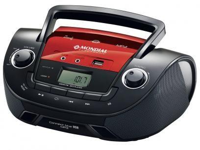 Rádio Portátil FM Connet Star - Mondial com as melhores condições você encontra no Magazine Nascimentochaves. Confira!