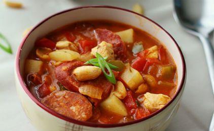 Σούπα Γκούλας με λουκάνικα