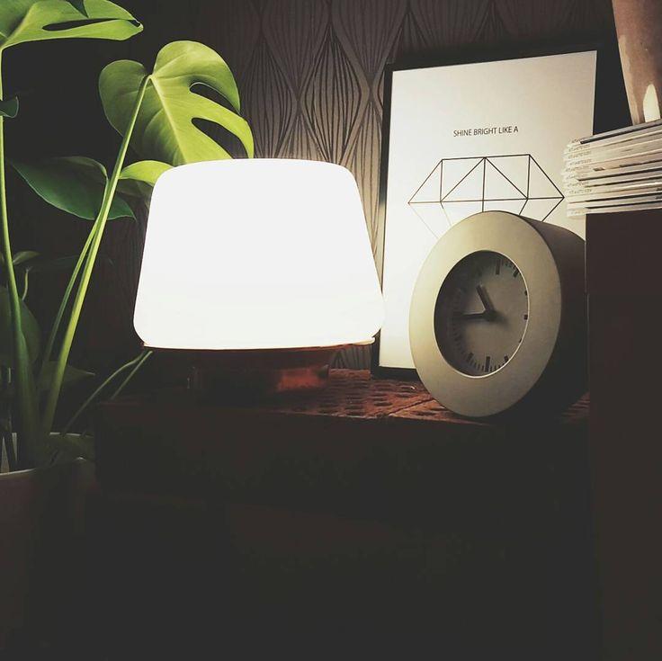 Shine bright lika a -  Luna table lamp // by Sessak  #sessakdesign #sessak #sessaklighting #luna#pöytävalaisin #luminaire #evening #goodnight #interior #inredning #etuovisisustus #interior4all #scandinaviandesign #finnishdesign #nordicinspiration #interiorinspiration #interior_design #sisustusinspiraatio #lamppu #lampa #valaisin #November