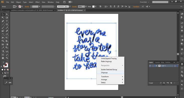 Diy - How To Create a Custom Quote Poster in Adobe Illustrator.