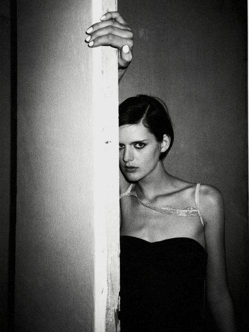 Stella Tennant, Paris 1995, by Juergen Teller.