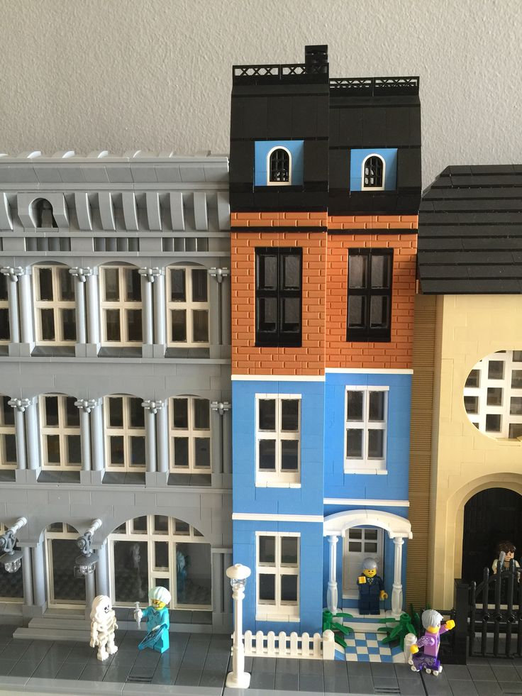 122 best Lego Modular Buildings images on Pinterest
