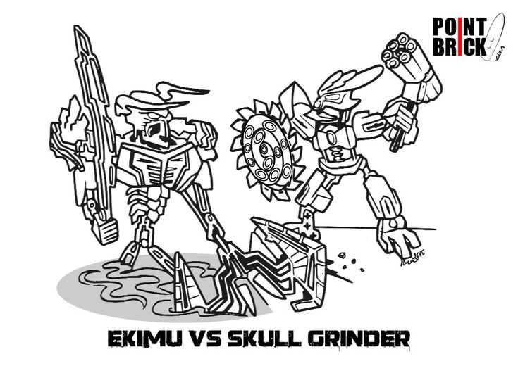 disegni da colorare lego bionicle ekimu vs skull grinder clicca sull 39 immagine per
