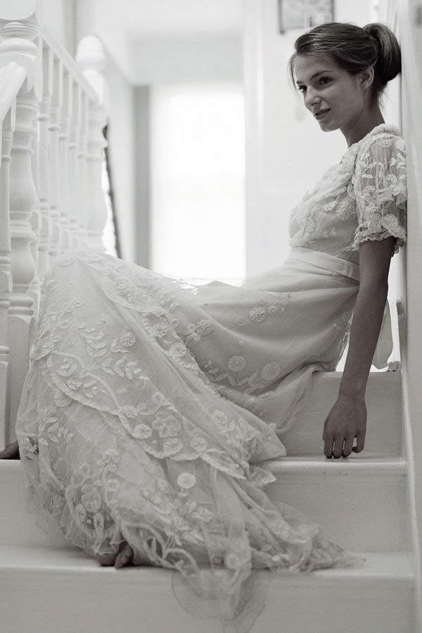 The Vintage Wedding Dress Company, Original Vintage Brautkleid von 1900