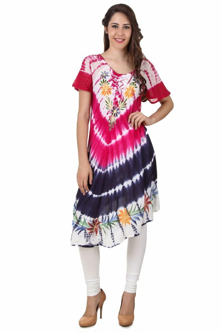 Western Tunics Online - Cotton, Full Sleeve, Embroidered Pattern, Western Wear