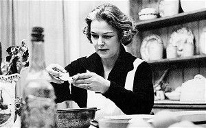 Elizabeth David -- Iconic British food writer Elizabeth David, who had her first book published in 1960.  Later in life, Elizabeth David took to writing about the most undervalued cuisine, that of England.   From The Unlikely Journey of Harold Fry.