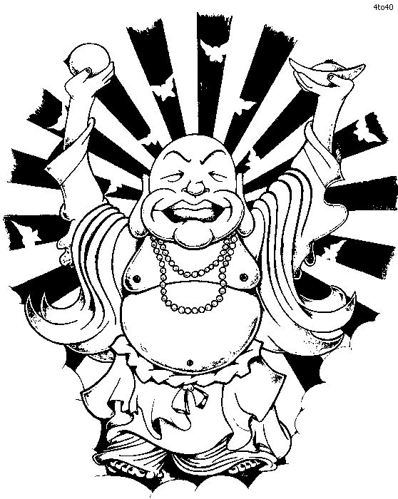 coloring pages buddah - photo#46