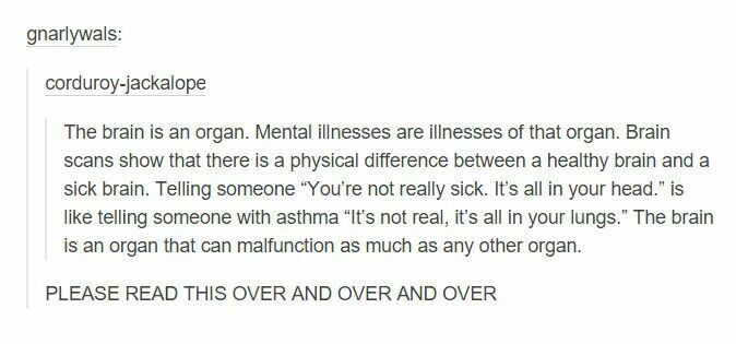 Mental illness is REAL