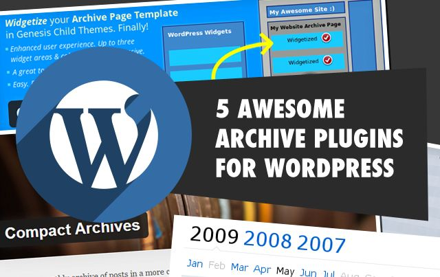 Here is a post enumerating some of the best Archive websites available for WordPress users along with its descriptions.