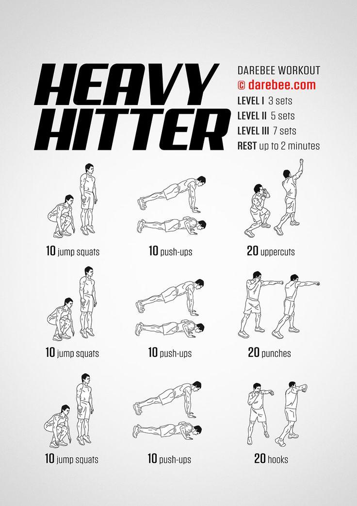 Heavy Hitter Workout